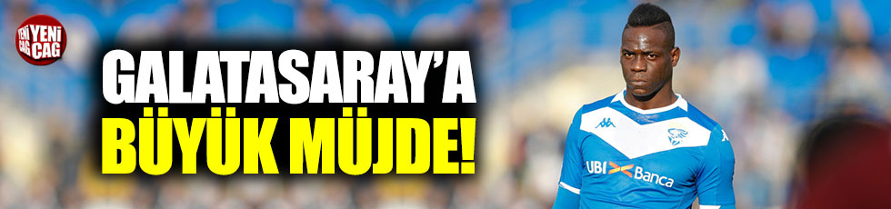 Galatasaray'a Mario Balotelli müjdesi! Transfer...