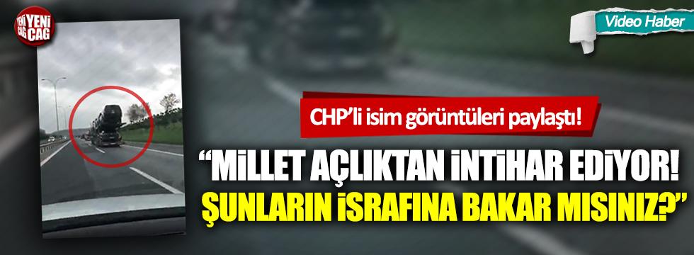 AKP'de israfın boyutu: TANAP'ın açılışına onlarca TIR'la makam aracı taşıdılar
