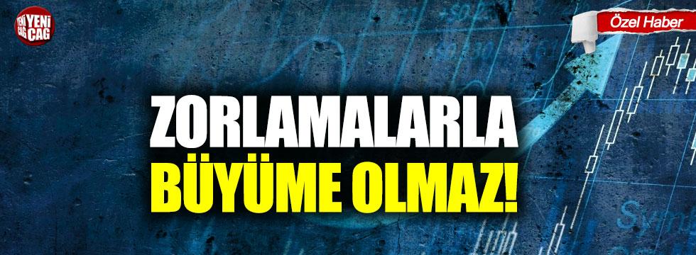 """""""Yüzde 0.9'luk büyüme Türkiye'nin sorunlarını çözmez"""""""