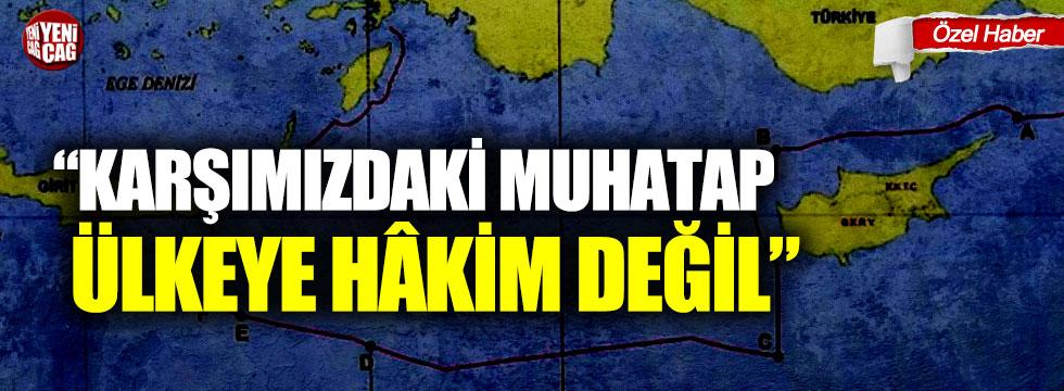 """Ahmet Kamil Erozan: """"Karşımızdakimuhatap ülkeye hâkim değil"""""""