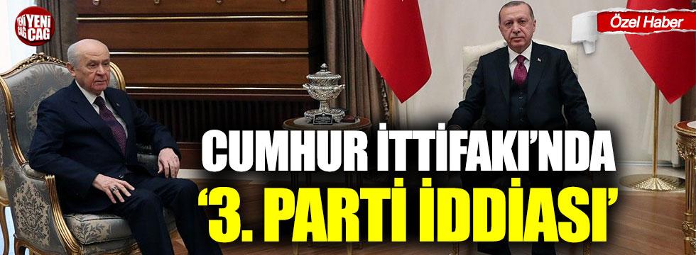 """AKP'de """"yeni ittifak"""" formülü"""