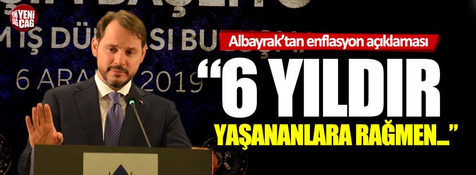 Berat Albayrak'tan enflasyon açıklaması