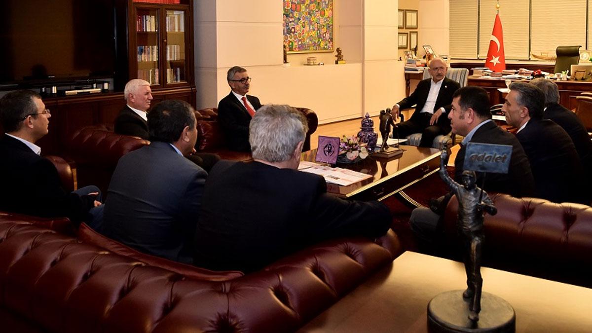 Sendikalardan Kemal Kılıçdaroğlu'na ziyaret