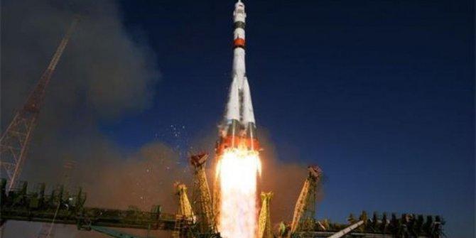 Kargo kapsülü Progress MS 13 uzaya fırlatıldı
