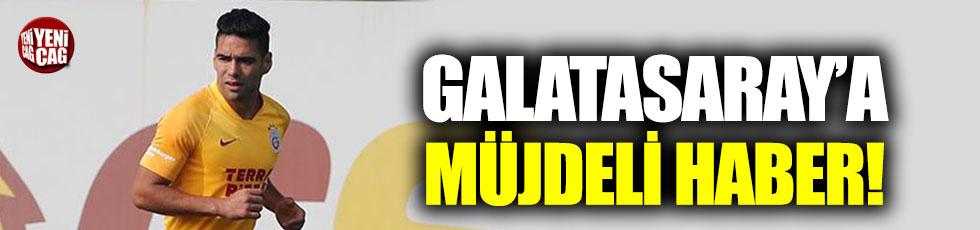 Galatasaray'da Radamel Falcao müjdesi!