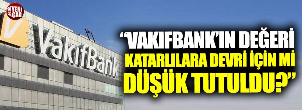 """Cihan Paçacı: """"VakıfBank'ın değeri Katarlılara devri için mi düşük tutuldu?"""""""