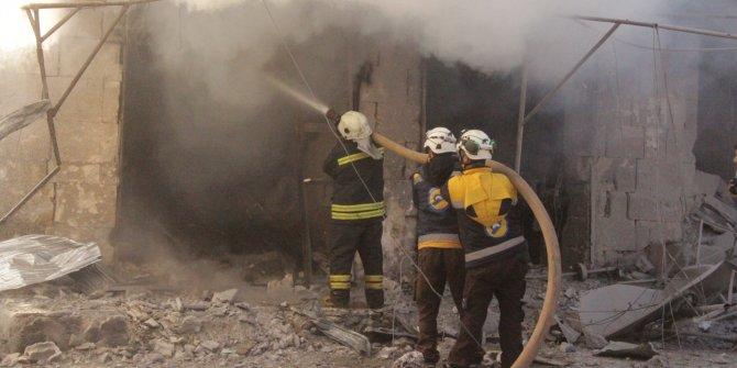 Rejim güçleri İdlib'i bombaladı: 20 ölü, 50 yaralı