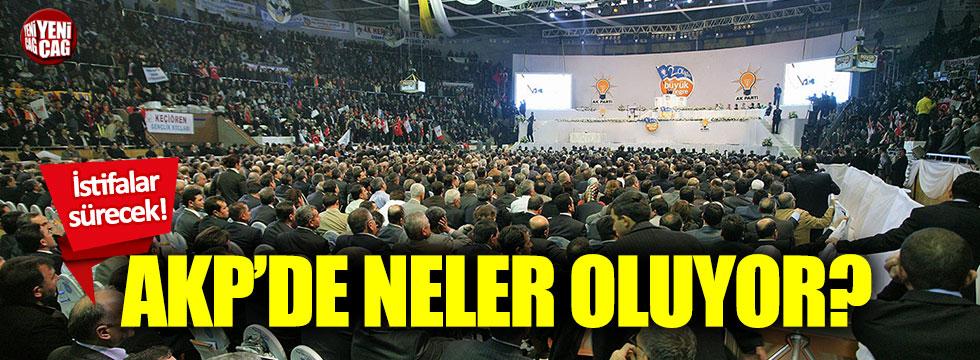 AKP'de neler oluyor?