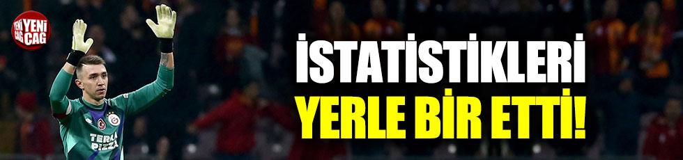 Muslera, Galatasaray'ı sırtlıyor