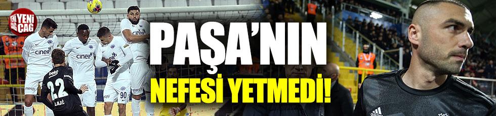 Kasımpaşa-Beşiktaş: 2-3 (Maç özeti)