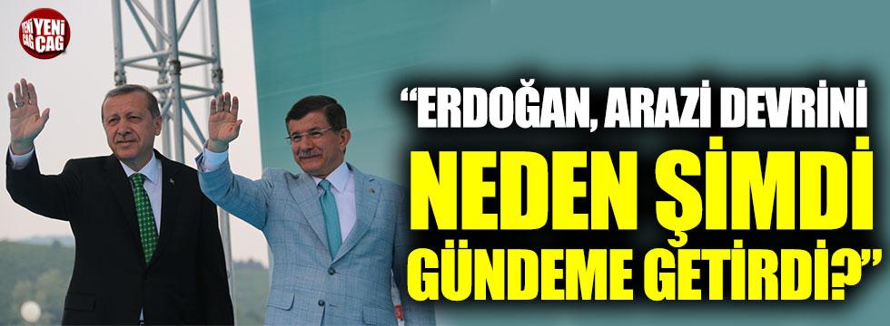 """Deniz Zeyrek: """"Erdoğan, arazi devrini neden şimdi gündeme getirdi?"""""""