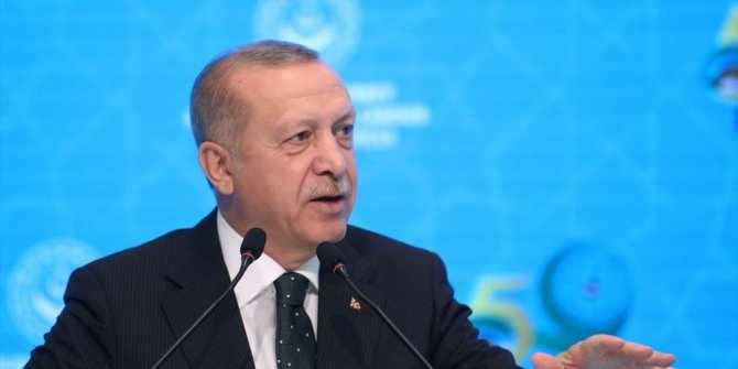 Erdoğan İİT toplantısında konuştu