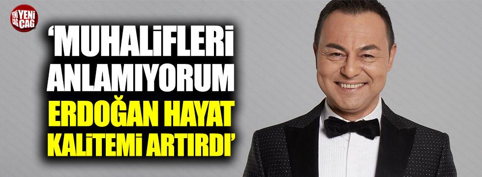 """Serdar Ortaç: """"Ekonomi daha kötü olabilirdi. İyi ki Erdoğan var"""""""