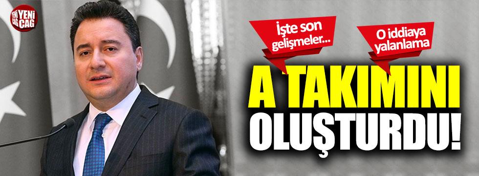 Ali Babacan'ın partisiyle ilgili yeni gelişmeler