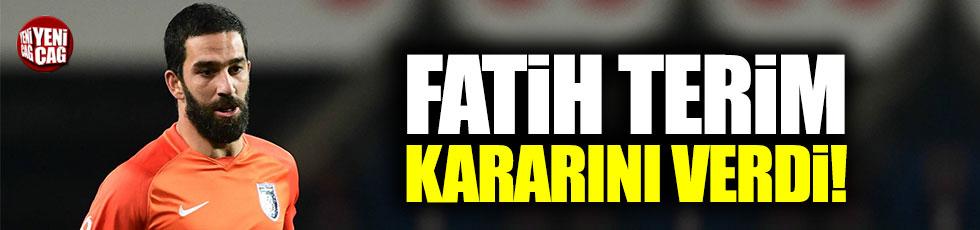 Fatih Terim'den Arda Turan transferine veto