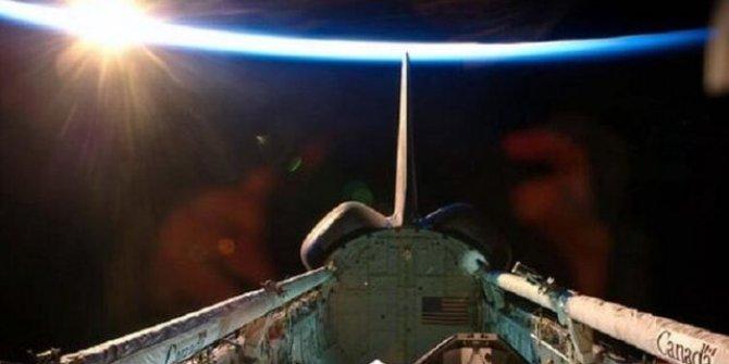 NASA'nın Ay fotoğrafından ''UFO'' çıktı!