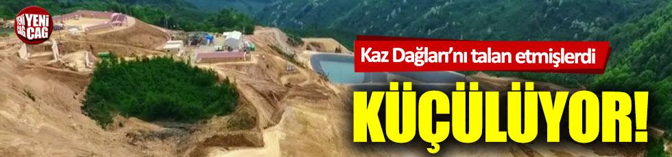 Kaz Dağları'nı katleden şirketten flaş karar!