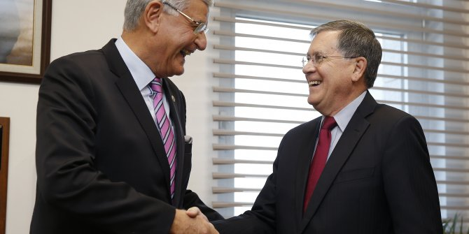 ABD Büyükelçisi'nden Volkan Bozkır'a ziyaret