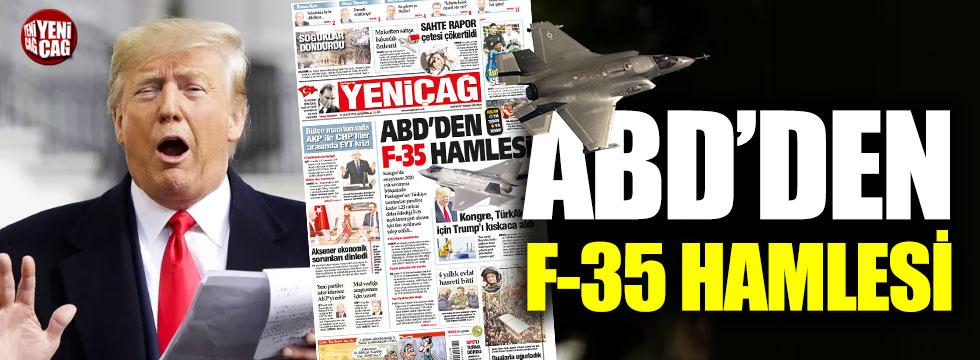 ABD, Türkiye'ye sattığı F-35'leri geri alacak