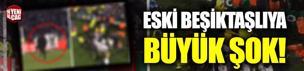 Eski Beşiktaşlı Marcelo'ya pankart şoku!