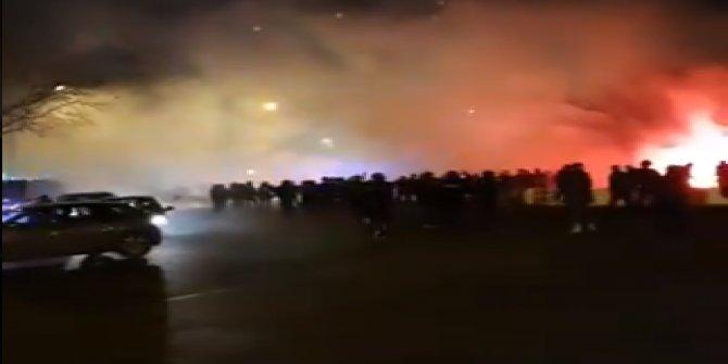 Galatasaray taraftarlarına Paris'te çirkin saldırı
