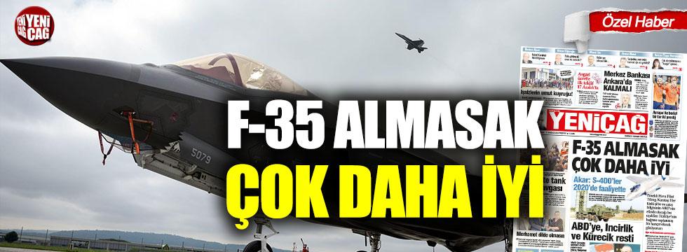 F-35'leri Akdeniz'de Ege'de uçuramayız