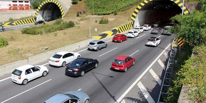 Bolu Dağı Tüneli, çift yönlü olarak trafiğe kapatıldı