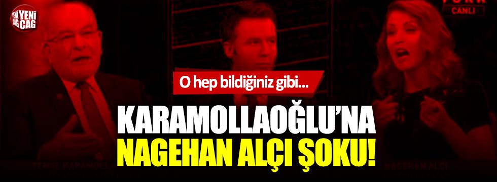 Temel Karamollaoğlu'na Nagehan Alçı şoku!