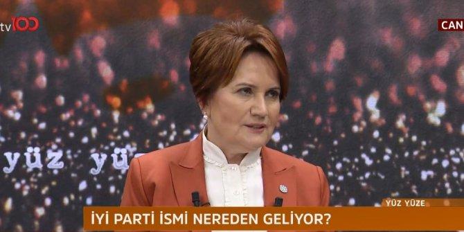 Meral Akşener canlı yayında konuşuyor