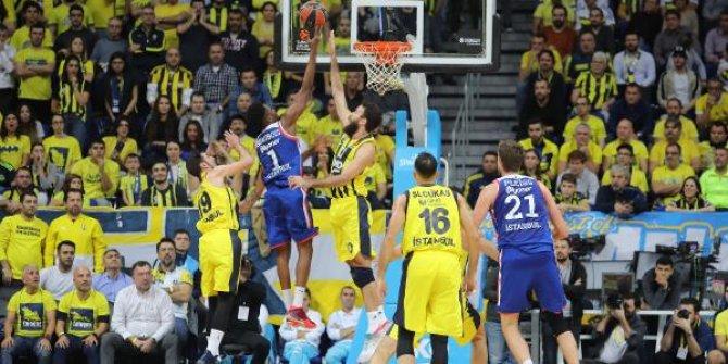 Fenerbahçe Beko – Anadolu Efes maç sonucu: 73-81