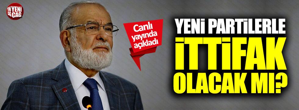 Saadet Partisi, Ali Babacan ve Davutoğlu ile ittifak yapacak mı?