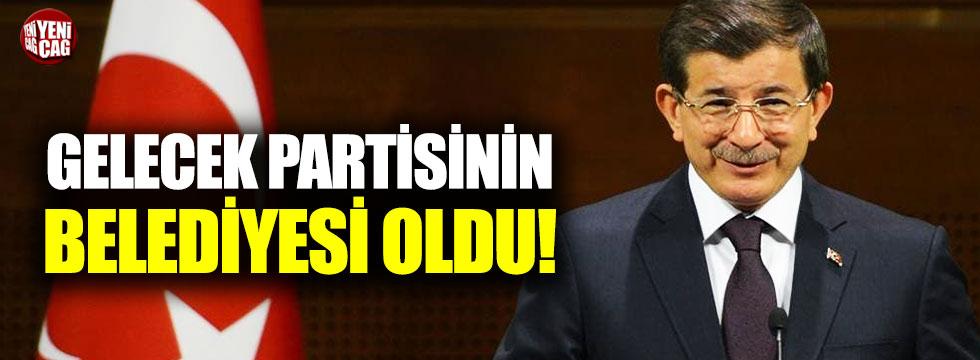 Gelecek Partisi'nin belediyesi oldu!