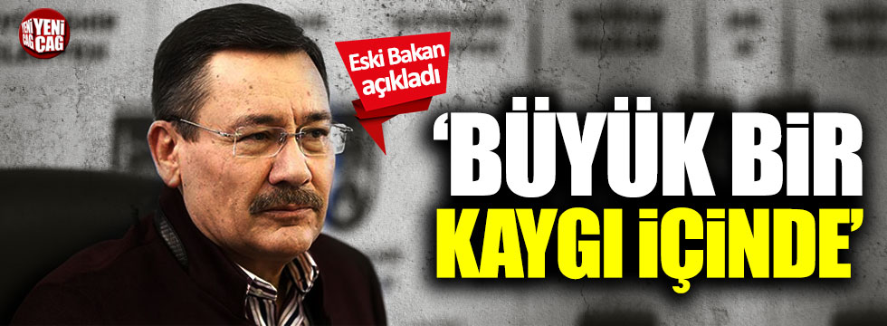 """MHP'li eski vekil Gürcan Dağdaş: """"Melih Gökçek kaygı içinde"""""""