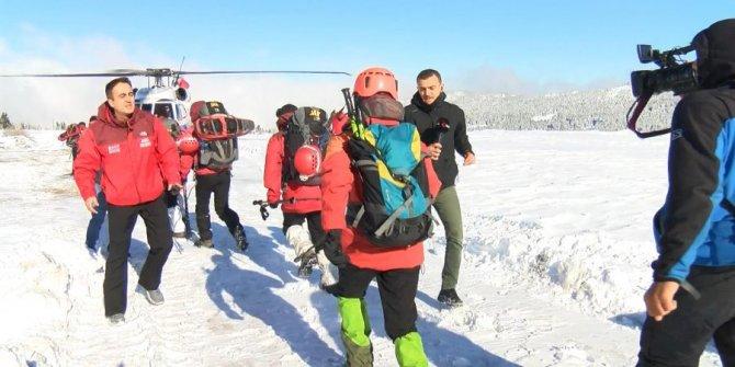 Kayıp dağcıları arama çalışmaları 12. gününde