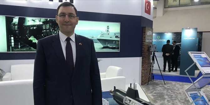Denizaltındaki 'ilk mühendislik ihracatı' denize iniyor