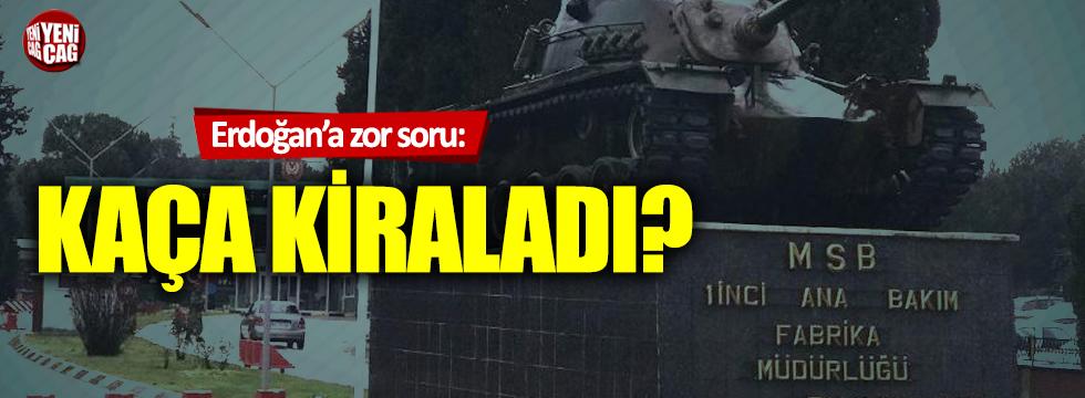 Kılıçdaroğlu'ndan Erdoğan'a zor soru: Kaça kiraladı?