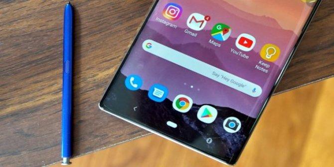 Galaxy Note 10 için beklenen gün geldi