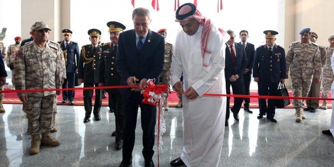 Hulusi Akar, Katar'da açılışa katıldı