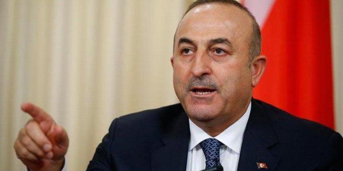 Mevlüt Çavuşoğlu'ndan 'yaptırım' açıklaması