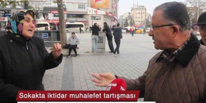 AKP'li vatandaş, oğluna iş isteyen bir kadını devleti kötülemekle suçladı!