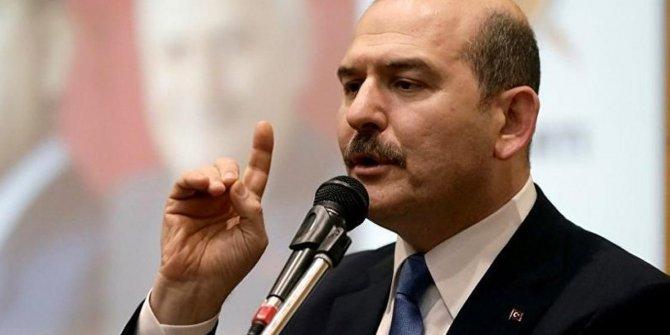 """Süleyman Soylu: """"Mültecilerle ekonomisi olumsuz etkilenen ülke yok"""""""