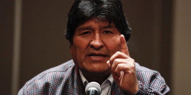 Bolivya'da Morales için yakalama emri