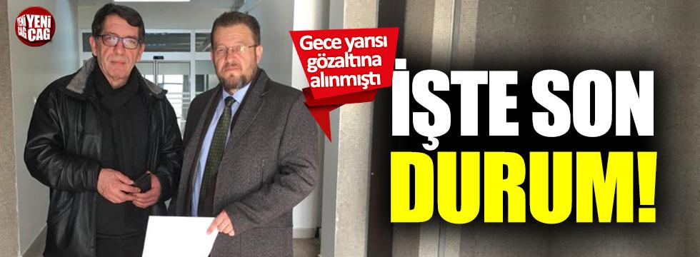 Gözaltına alınan Yavuz Selim Demirağ, serbest bırakıldı