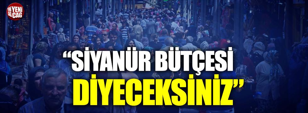 CHP'li Yıldırım Kaya: Siyanür bütçesi diyeceksiniz