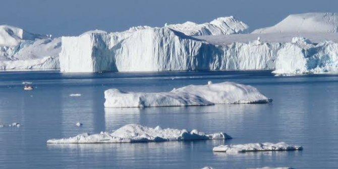 Grönland'da 'Karanlık Nehir' bulundu