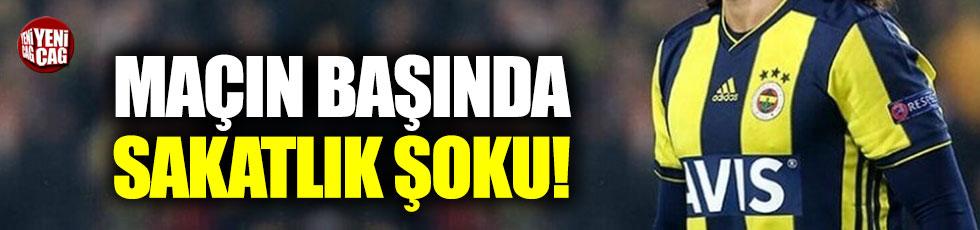 Sivasspor-Fenerbahçe maçında sakatlık şoku!