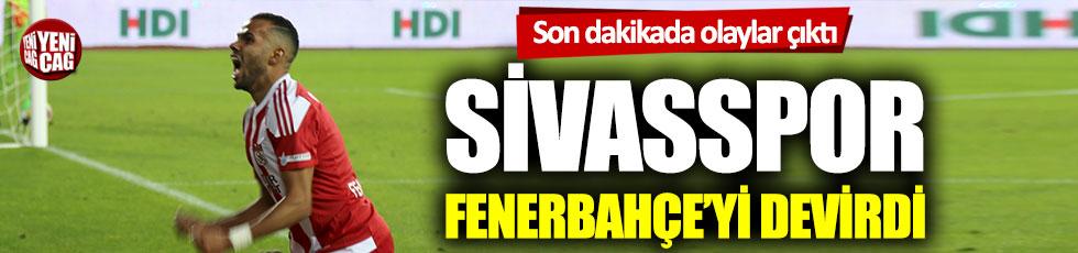 Sivasspor-Fenerbahçe: 3-1 (Maçın özeti)
