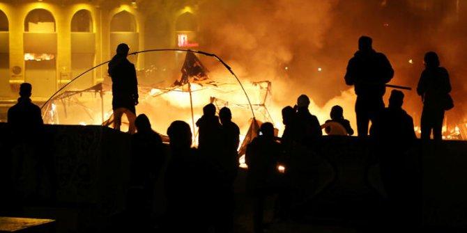 Beyrut'ta gece çatışmaları! Onlarca yaralı var