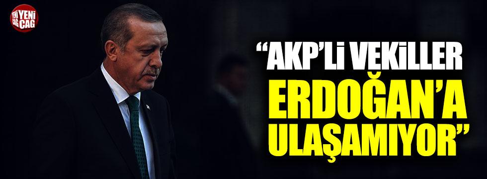 "CHP'li Yıldırım Kaya: ""AKP'li vekiller Erdoğan'a ulaşamıyor"""