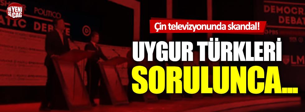 Çin televizyonunda Doğu Türkistan skandalı!